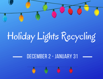 Holiday Lights Recycling Village Web